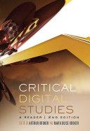 Critical Digital Studies