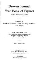 Drovers Journal Year Book Of Figures Of The Live Stock Trade