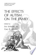 The Effects Of Autism On The Family Book PDF