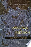 Language and Relation