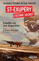Pdf Saint-Exupéry, l'ultime secret Telecharger