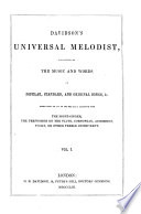 Davidson's Universal Melodist