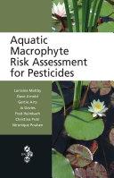 Pdf Aquatic Macrophyte Risk Assessment for Pesticides Telecharger