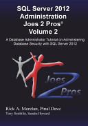 SQL Server 2012 Administration Joes 2 Pros