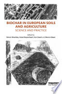 Biochar in European Soils and Agriculture