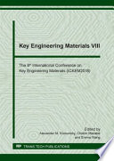 Key Engineering Materials VIII