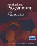 Introduction to Programming with Mathematica