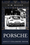 Porsche Adult Coloring Book