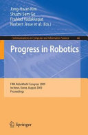 Progress in Robotics [Pdf/ePub] eBook