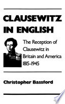 Clausewitz In English Book