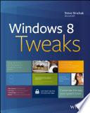 Windows 8 Tweaks