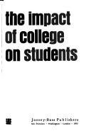 The Impact of College on Students  An analysis of four decades of research