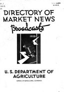 Directory of Market News Broadcasts