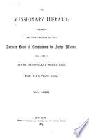 The Missionary Herald Book
