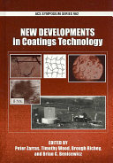 New Developments in Coatings Technology Book