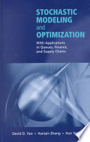 Stochastic Modeling And Optimization Book PDF