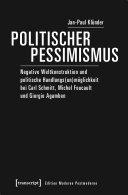 Politischer Pessimismus
