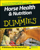 Horse Health   Nutrition For Dummies