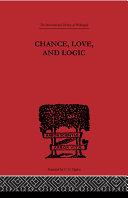 Chance, Love, and Logic Pdf/ePub eBook
