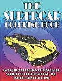 The Supercar Coloring Book