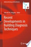 Recent Developments in Building Diagnosis Techniques
