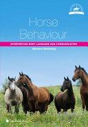 Horse Behaviour Book