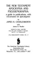 The New Testament Apocrypha And Pseudepigrapha Book