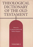 Theological Dicitonary of the Old Testament