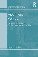 Apartheid Vertigo [Pdf/ePub] eBook