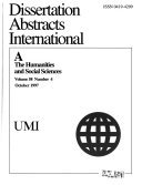 Dissertation Abstracts International Book