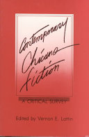 Contemporary Chicano Fiction