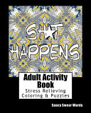 Adult Activity Book Saucy Swear Words