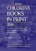 Children s Books in Print 2016