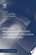Micro And Nanofabrication Using Self Assembled Biological Nanostructures Book PDF