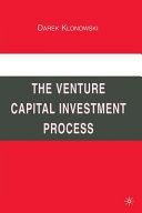 The venture capital investment process darek klonowski supply and demand forex bookstore