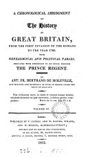 Pdf A Chronological Abridgment of the History of Great-Britain, from the First Invasion of the Romans, to the Year 1763