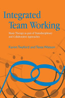 Integrated Team Working Pdf/ePub eBook