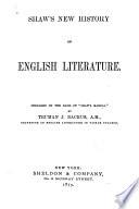 Shaw s New History of English Literature
