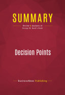Summary: Decision Points