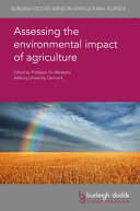 Assessing the Environmental Impact of Agriculture Book