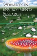 Advances in Environmental Research
