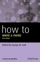 How To Write a Paper [Pdf/ePub] eBook