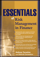 Essentials of Risk Management in Finance