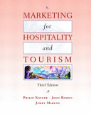Cover of Marketing for Hospitality and Tourism