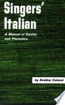 Singers' Italian