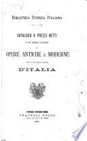 Biblioteca storica italiana