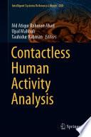 Contactless Human Activity Analysis Book