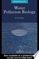 Water Pollution Biology, Second Edition
