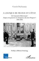 Pdf La Banque de France et l'Etat Telecharger