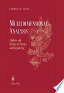 Multidimensional Analysis Book PDF